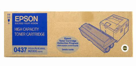 Epson C13S050437 (C13S050435) black Originál Originální cartridge Epson C13S050437 (C13S050435) - černá