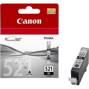 Canon CLI-521Bk black - Originál Originální náplň Canon CLI521Bk - černá