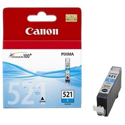 Canon CLI-521C cyan - Originál Originální náplň Canon CLI521C - azurová