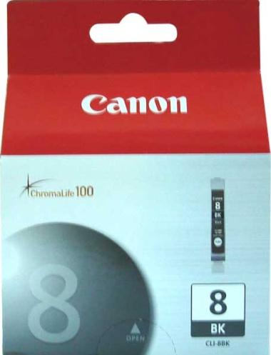 Canon CLI-8Bk black Originál Originální černá náplň CLI8 Bk