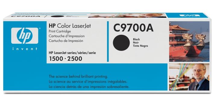 HP C9700A (HP 121A) black Originál Originální cartridge HP C 9700A - černá