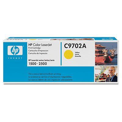 HP C9702A (HP 121A) yellow Originál Originální cartridge HP C 9702A - žlutá