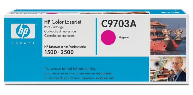 HP C9703A (HP 121A) magenta Originál Originální cartridge HP C 9703A - purpurová