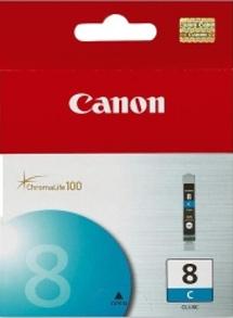 Canon CLI-8C cyan Originál Originální azurová náplň CLI8 C