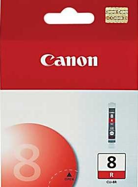 Canon CLI-8R red Originál Originální červená náplň CLI8 R