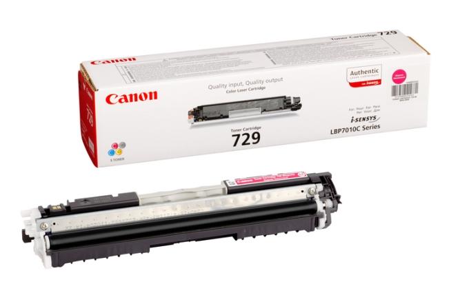 Canon CRG-729M magenta Originál Originální Canon cartridge 729 - purpurová