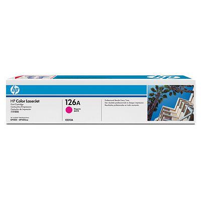 HP CE313A (HP 126A) magenta Originál Originální cartridge HP-CE313A (HP126A) - purpurová