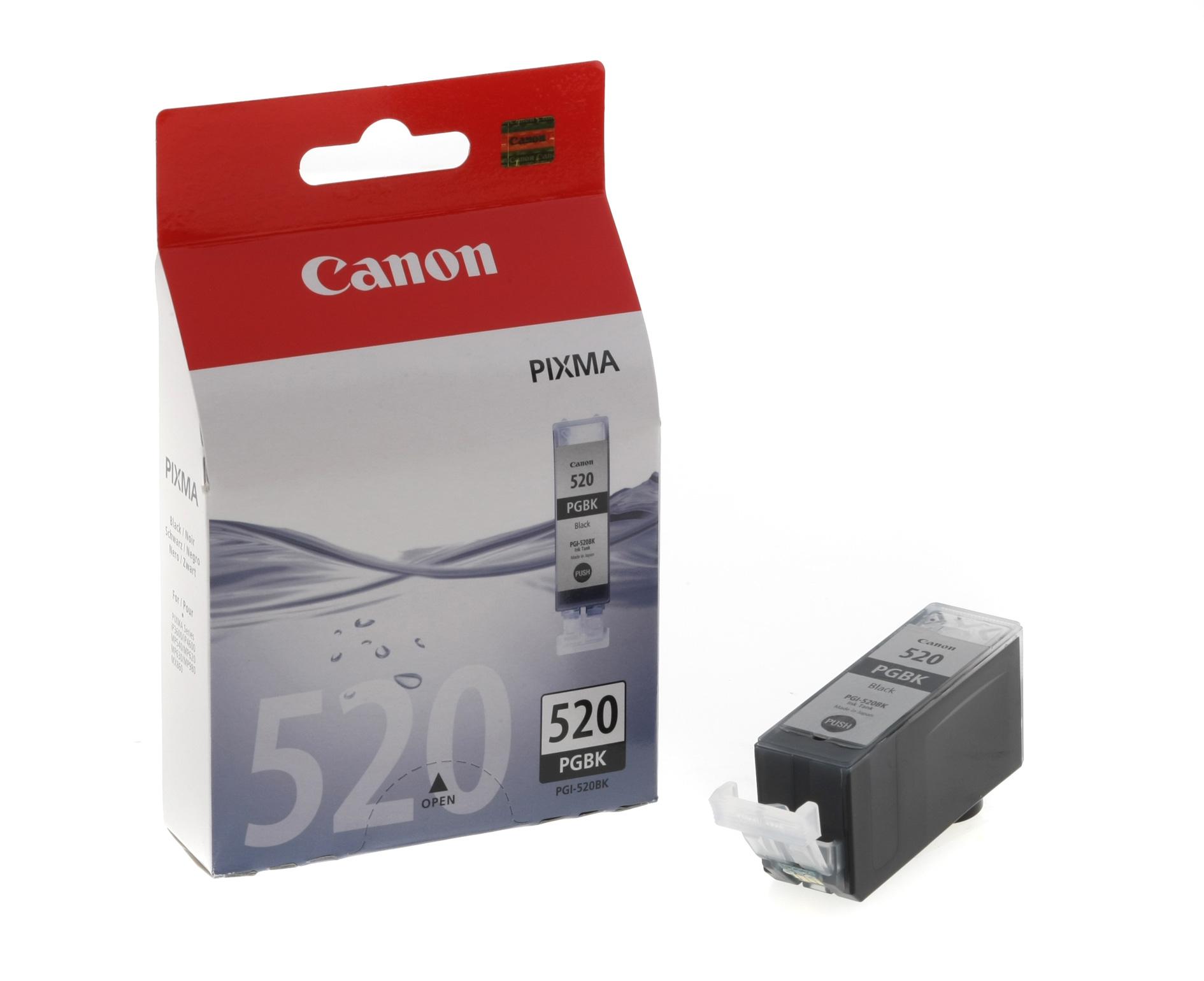 Canon PGI-520Bk black Originál Originální cartridge Canon PGI520 Bk - černá