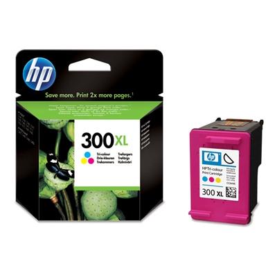 HP CC644EE (HP 300 XL) color Originál Originální cartridge HPCC644EE (HP 300xl) - barevná