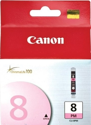 Canon CLI-8PM photo magenta Originál Originální náplň CLI8 PM - světle červená