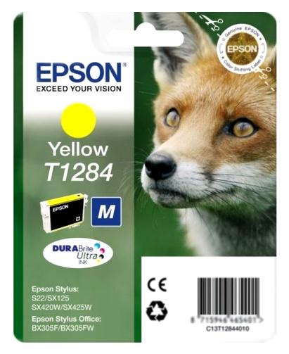 Epson T1284 yellow Originál Originální cartridge Epson T1284 - žlutá