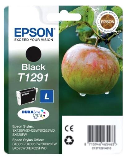 Epson T1291 black Originál Originální cartridge Epson T1291 - černá