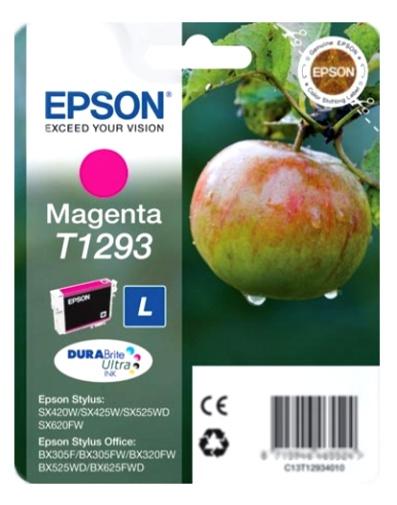 Epson T1293 magenta Originál Originální cartridge Epson T1293 - purpurová