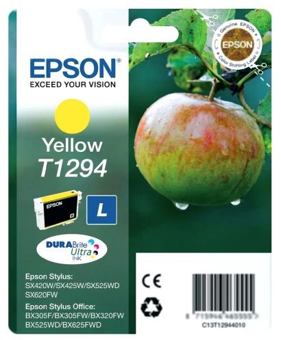 Epson T1294 yellow Originál Originální cartridge Epson T1294 - žlutá