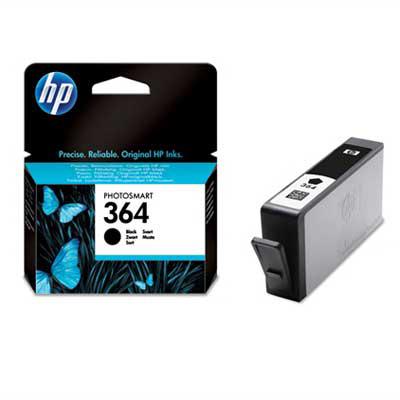 HP CB316EE (HP 364) black Originál Originální cartridge HP CB316E (HP364) - černá