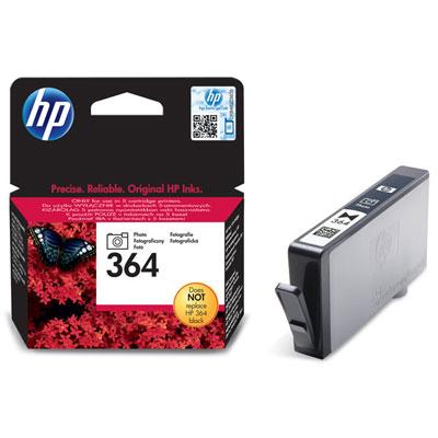 HP CB317EE (HP 364) photo black Originál Originální cartridge HP CB317E (HP-364) - foto černá