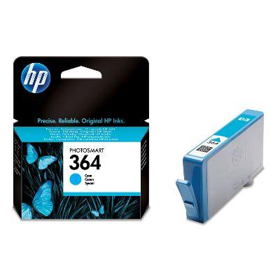 HP CB318EE (HP 364) cyan Originál Originální cartridge HP CB318EE (HP-364) - azurová