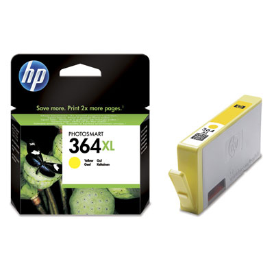 HP CB325EE (HP 364 XL) yellow Originál Originální cartridge HP CB325EE (HP 364xl) - žlutá