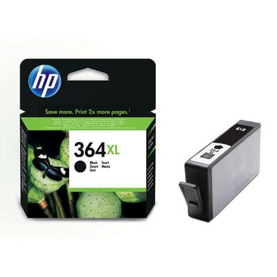 HP CN684EE (HP 364 XL) black Originál Originální cartridge HP CN684EE (HP 364xl) - černá