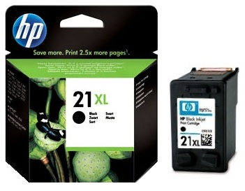 HP 21 XL (C9351CE) black original Originální černá náplň HP 21xl
