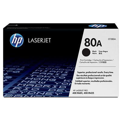 HP CF280A (HP 80A) black Originál Originální cartridge HP CF-280A (HP 80A) - černá
