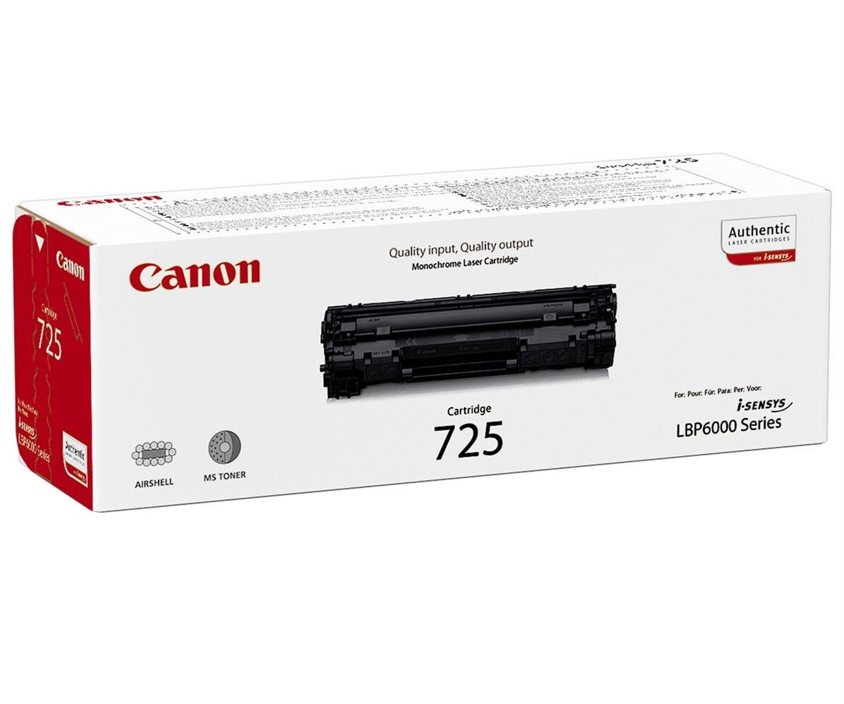 Canon CRG-725 black Originál Originální Canon cartridge 725 - černá