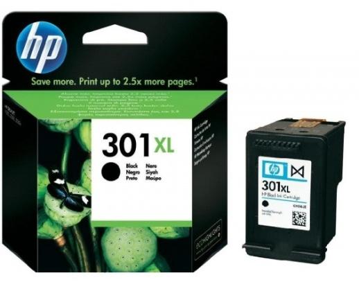 HP 301 XL (HP CH563EE) black Originál Originální černá náplň HP 301xl (CH563EE)