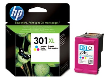 HP 301 XL (HP CH564EE) color Originál Originální barevná náplň HP 301xl (CH564EE)