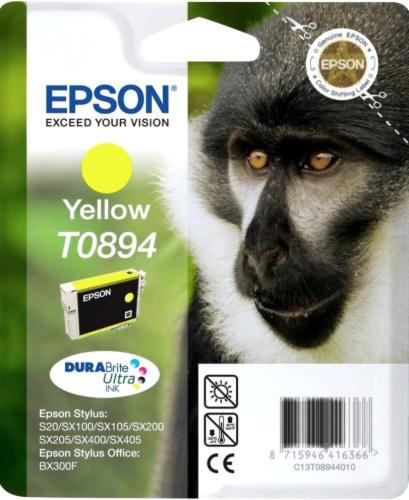 Epson T0894 yellow Originál Originální cartridge Epson T0894 - žlutá