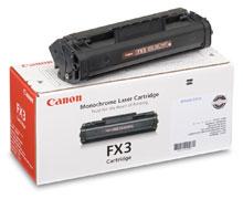 Canon FX-3 black Originál Originální cartridge Canon FX3 - černá