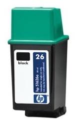 HP 26 (HP 51626A) black - renovace Repasování vaší prázdné náplně HP51626A