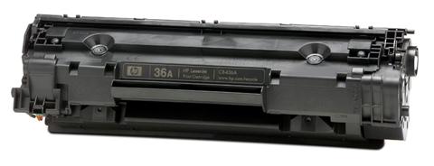 HP CB436A (HP 36A) black Compatible Kompatibilní cartridge HP CB 436A - černá
