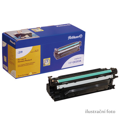 HP CE252A (HP 504A) yellow Compatible Kompatibilní cartridge HP CE252 A - žlutá