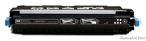 HP Q6470A black Compatible Kompatibilní cartridge HP Q6470A - černá