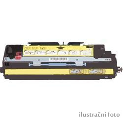 HP Q7582A yellow Compatible Kompatibilní cartridge HP Q7582A - žlutá