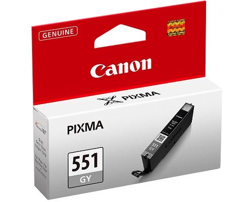 Canon CLI-551GY grey Originál Originální cartridge Canon CLI551GY - šedá