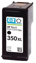 HP 350 XL (CB336EE) black - renovace Repasování vaší prázdné náplně HP 350xl