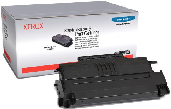Xerox 106R01378 black Originál - pro Phaser 3100 Originální cartridge Xerox 106R01378 černá - pro Phaser 3100