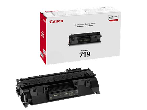Canon CRG-719 black Originál Originální Canon cartridge 719 - černá