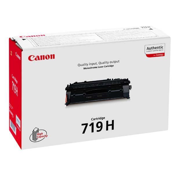 Canon CRG-719H black Originál Originální cartridge 719H - černá