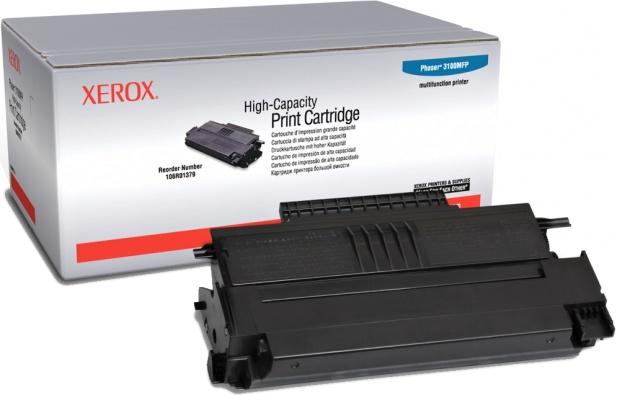 Xerox 106R01379 black (xl) Originál - pro Phaser 3100 Originální cartridge Xerox 106R01379 černá (xl) - pro Phaser 3100