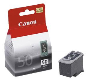 Canon PG-50 black Originál Originální cartridge Canon PG50 - černá