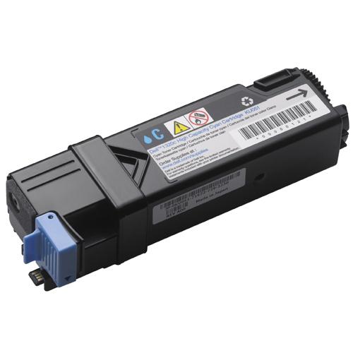Dell KU051 (593-10259) cyan Originál Originální cartridge Dell KU 051 (59310259) - azurová