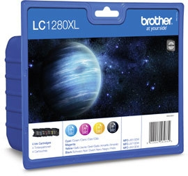 Brother LC-1280xlBkCMY multipack original