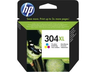 HP 304XL (N9K07AE) color original