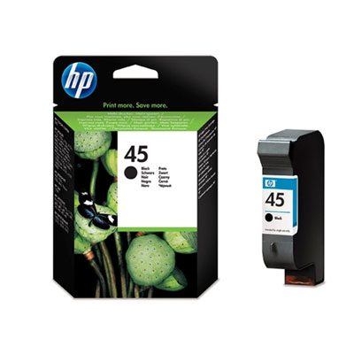 HP 45 (51645AE) black Originál Originální cartridge HP45 (51645A) - černá