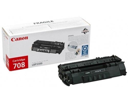 Canon CRG-708 black Original Originální toner Canon CRG 708 - černý