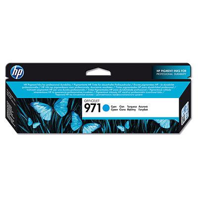 HP CN622AE (HP 971) cyan original Originální cartridge HP CN 622 AE (HP 971) - azurová