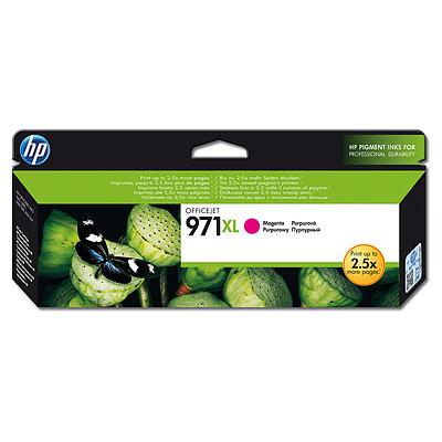 HP CN627AE (HP 971xl) magenta original Originální cartridge HP CN 627 AE (HP 971xl) - purpurová