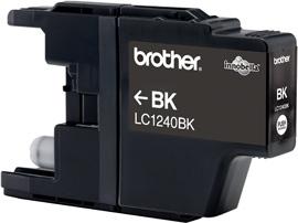 Brother LC-1240Bk black Original Originální cartridge Brother LC 1240 Bk - černá